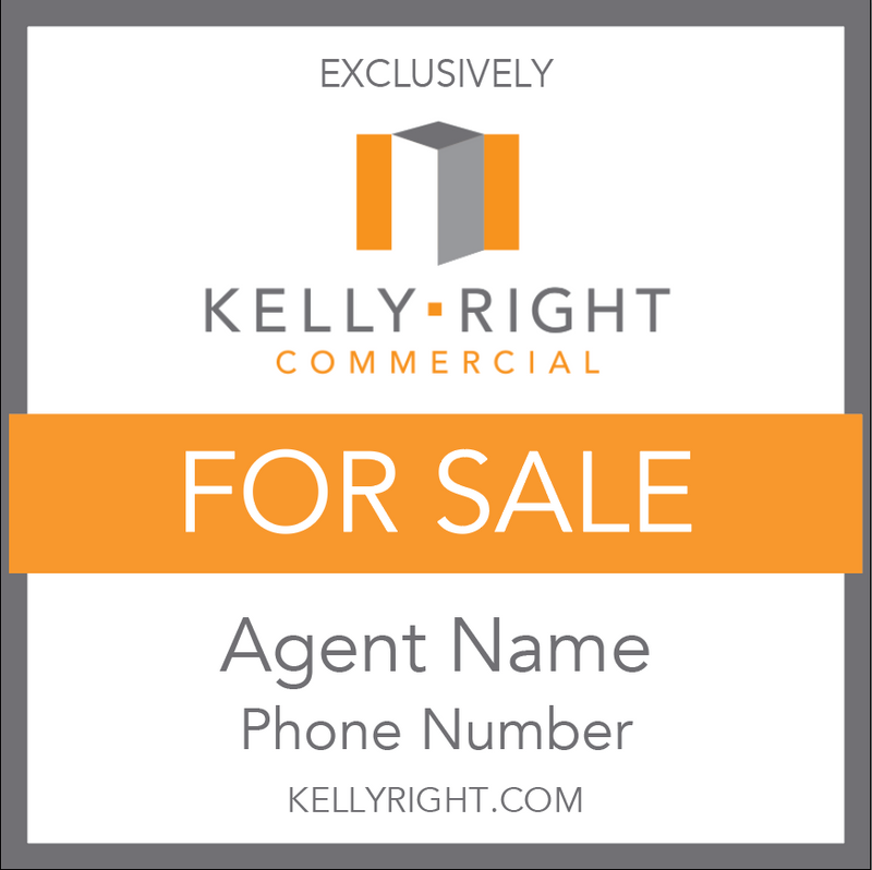 Kelly Right Commercial For Sale Sign (Custom)