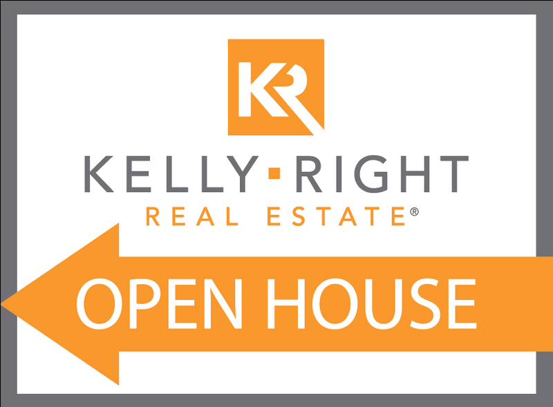 KR Open House Sign Arrow