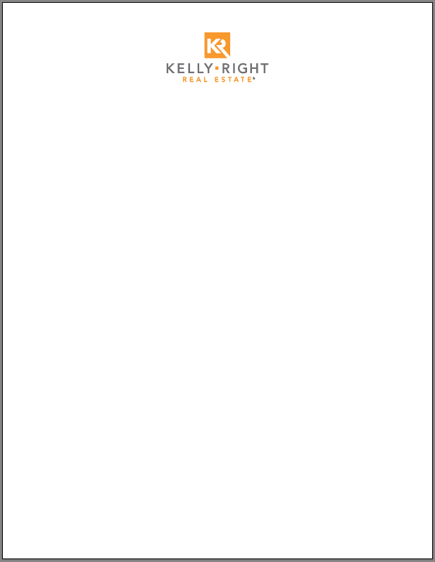 Kelly Right Letterhead