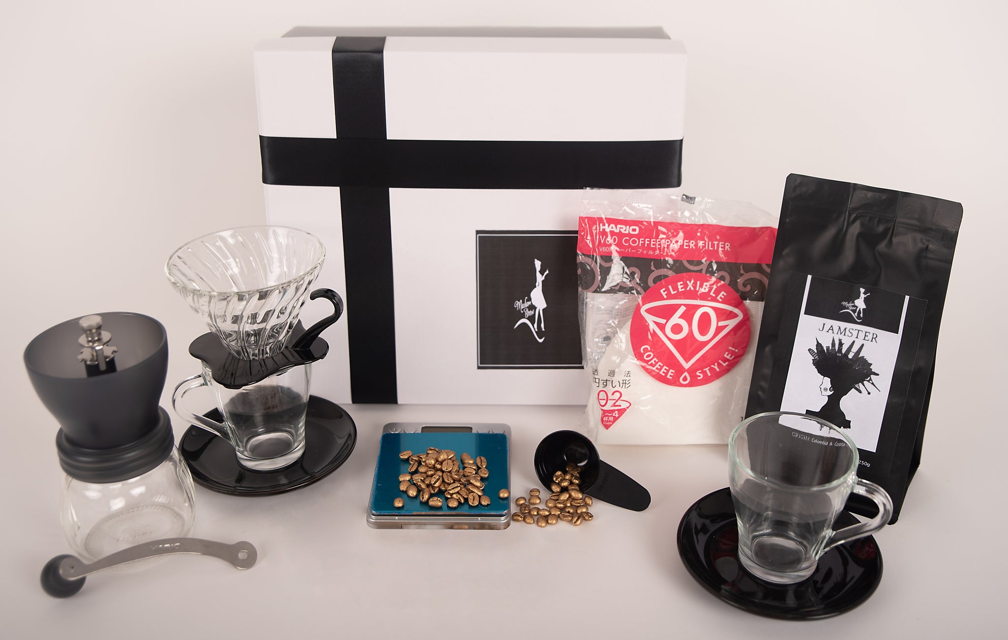 Madam Brew Pour Over Starter Gift Box