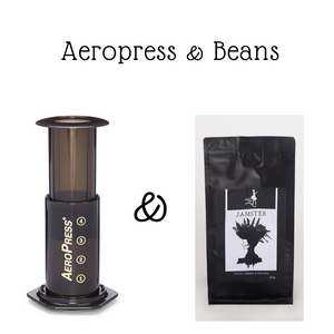 AeroPress & Coffee Bean Bundle