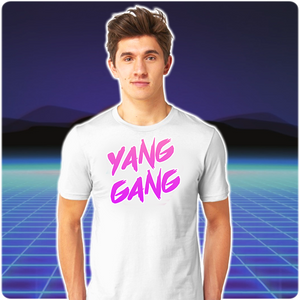 #YangGang | Yang 2020 Graffiti Graphic Tee