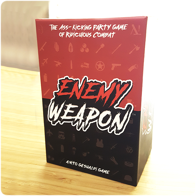 ENEMY WEAPON | The Ass-Kicking Party Game of Ridiculous Combat