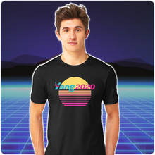 Load image into Gallery viewer, #YangGang | Yang 2020 Vaporwave Graphic Tee