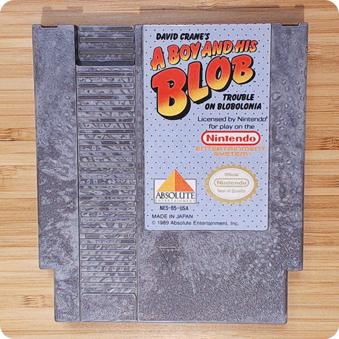 [NES] A Boy And His Blob