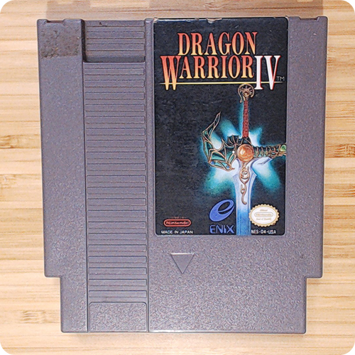 [NES] Dragon Warrior IV
