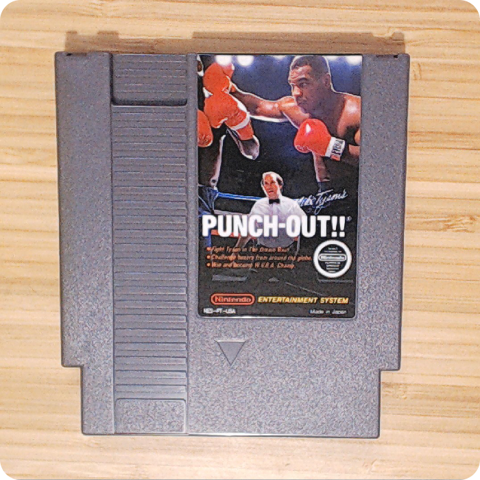 [NES] Mike Tyson's Punch-Out