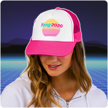 Load image into Gallery viewer, #YangGang | Yang 2020 Vaporwave Trucker Hat