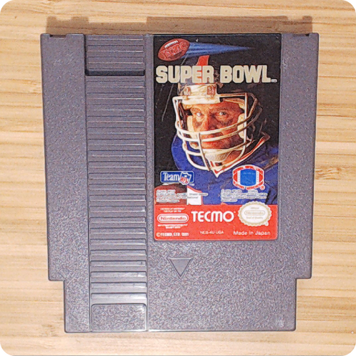 [NES] Tecmo Super Bowl