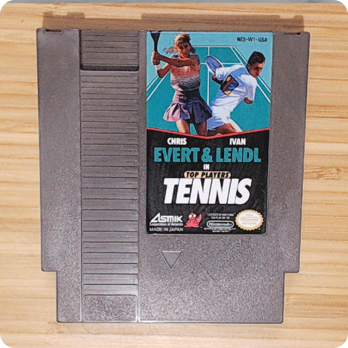 [NES] Top Players Tennis