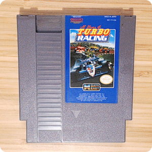 [NES] Al Unser Jr.'s Turbo Racing