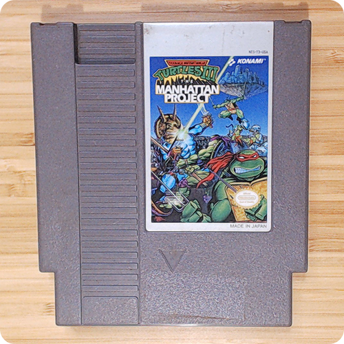[NES] TMNT III: The Manhattan Project