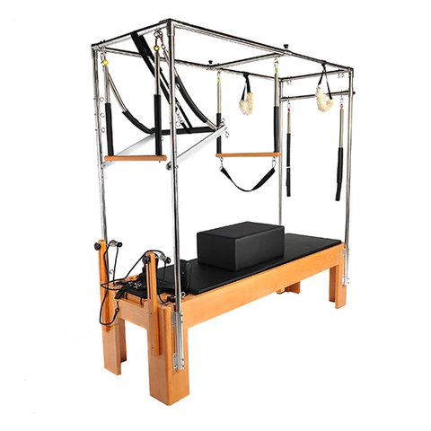 Pilates Master Beechwood Full Trapeze Reformer PM-FT-02 - Pilates World
