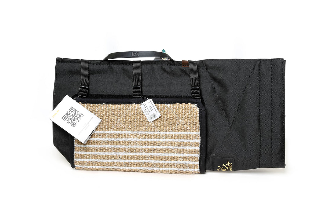 Julius-K9 Polyester Cover with Removable Jute Bite Surface (144PE+144JU)