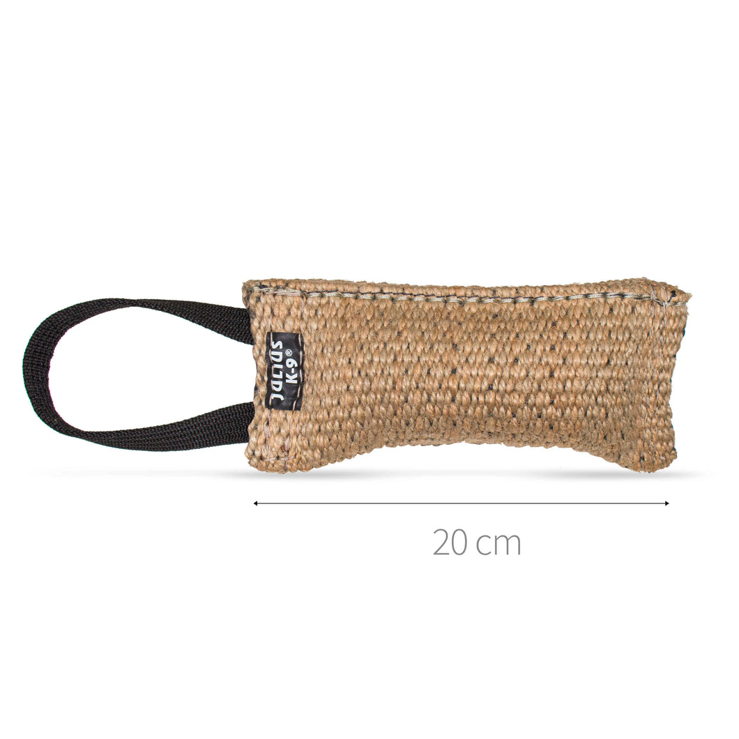 Julius-K9 Jute Tug with Handle