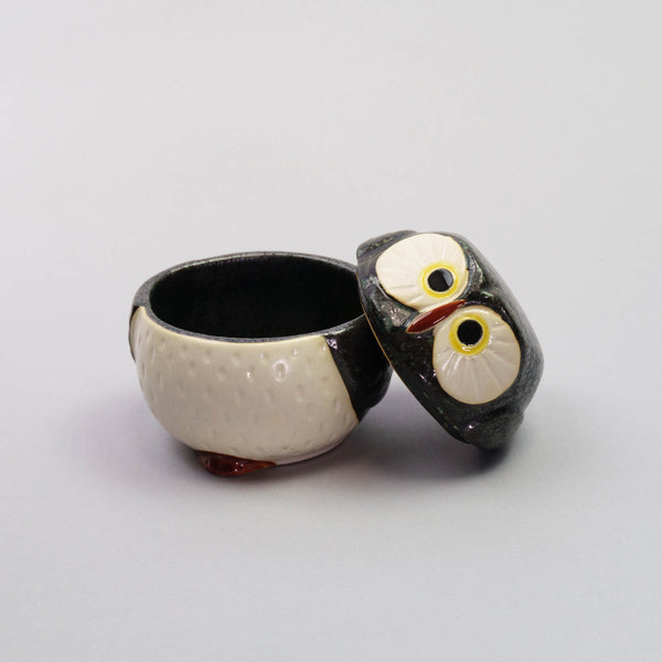 Owl Lidded Bowl