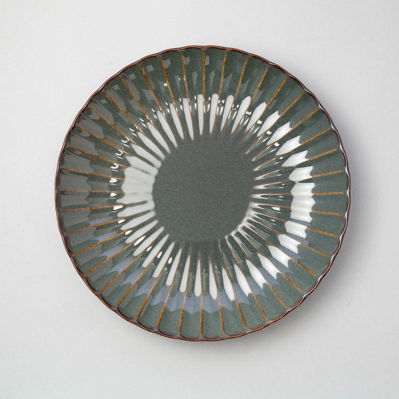 HANA Blue Gray Plate