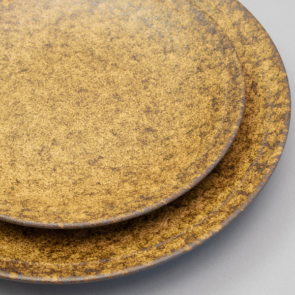 EKI Brown Round Plate
