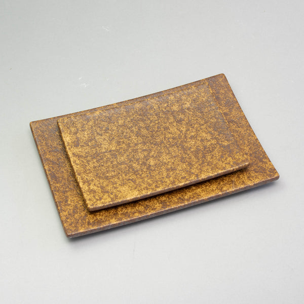 EKI Brown Rectangular Plate