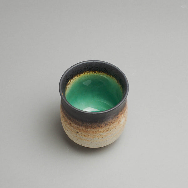 Peacock Green Teacup