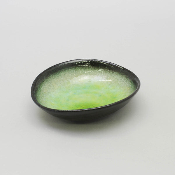 Ariake Green 16.5cm Oval Bowl