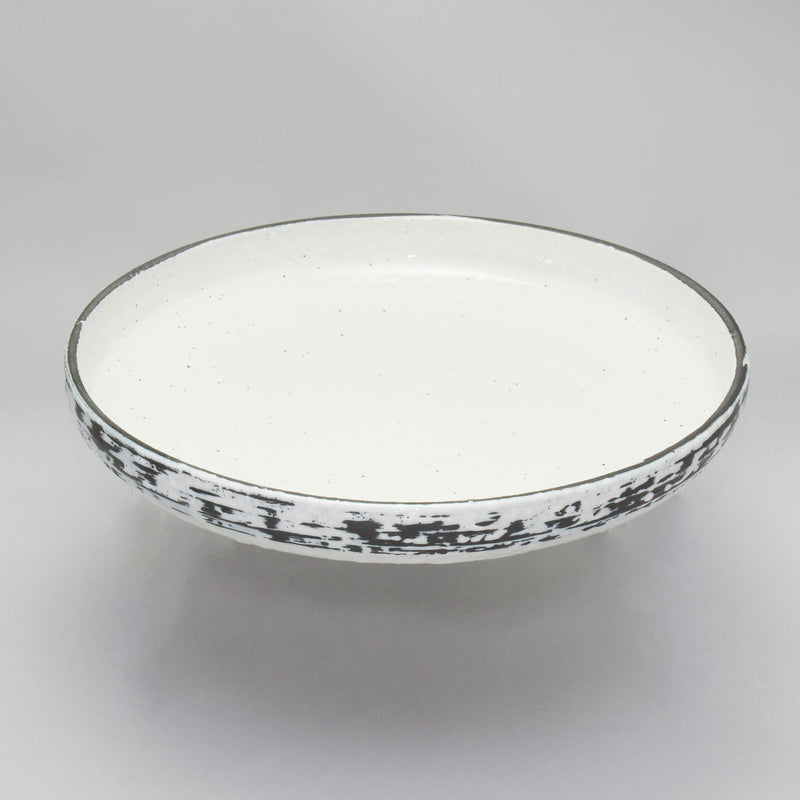 Snow White Flat Bowl - 31.5x6.0cm