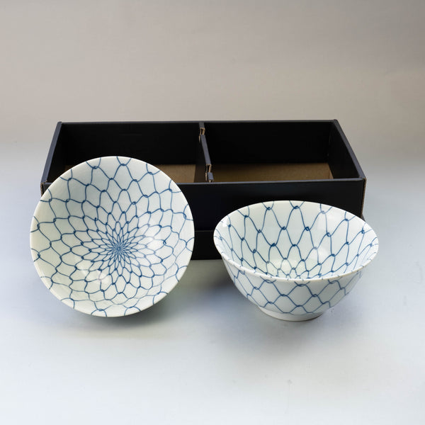 Amime Bowl and Chopsticks Set
