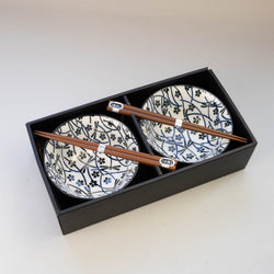 TOMBO Bowl and Chopsticks Set