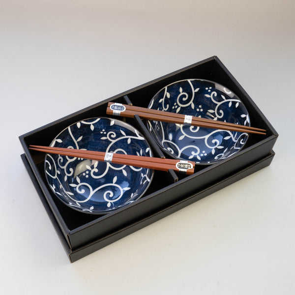 AI KARAKUSA Bowl and Chopsticks Set