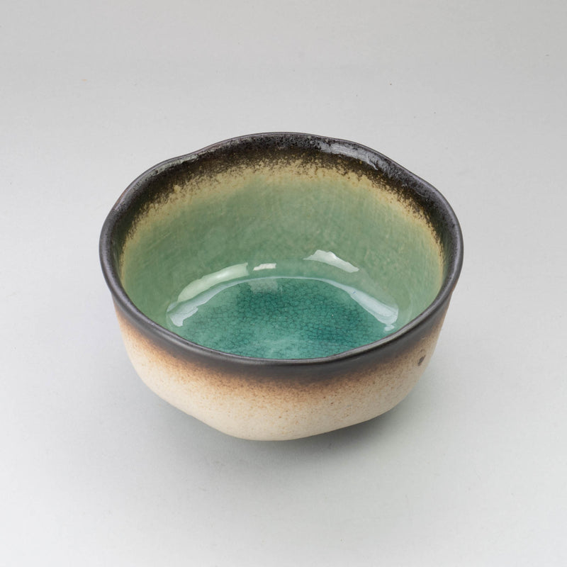 Peacock Green D15cm Round Bowl