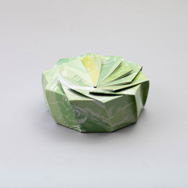 HANA Wheel Wrapper Marble Green