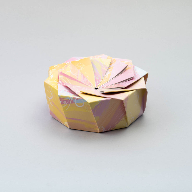 HANA Wheel Wrapper Marble Yellow