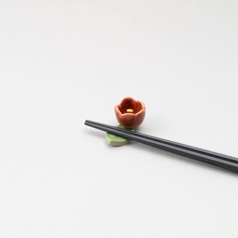 Camellia Chopstick Rest 5pcs Set