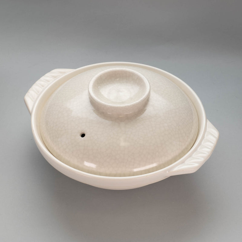 Kannyu White Earthen Pot