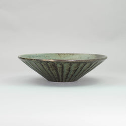 UGUISU Shaved Shallow Bowl