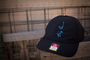 Vertical Signature Cap in Neon