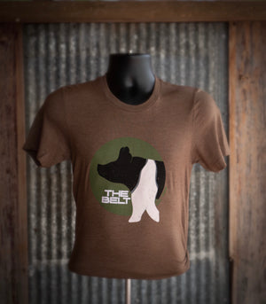 The Belt T-Shirt - Brown