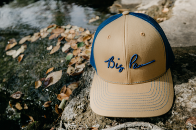 Big Paw Khaki/Royal