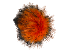 Faux Orange Pom