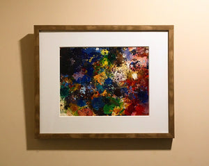 """The Palette of Israel"" Framed original"