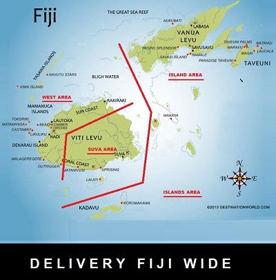 DELIVERY FIJI WIDE