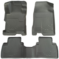 Husky Liners Weatherbeater Series Front and Second Row Floor Liners