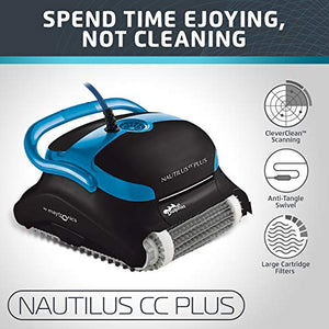 Dolphin Nautilus CC Plus Automatic Robotic Pool Cleaner - Artificial Waterfalls