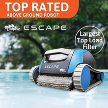 Load image into Gallery viewer, Dolphin Escape Robotic Above Ground Pool Cleaner - Artificial Waterfalls