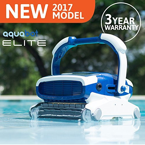 Aquabot Elite Inground Robotic Pool Cleaner - Artificial Waterfalls