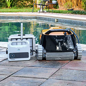 Dolphin Triton Robotic Pool Cleaner with PowerStream - Artificial Waterfalls