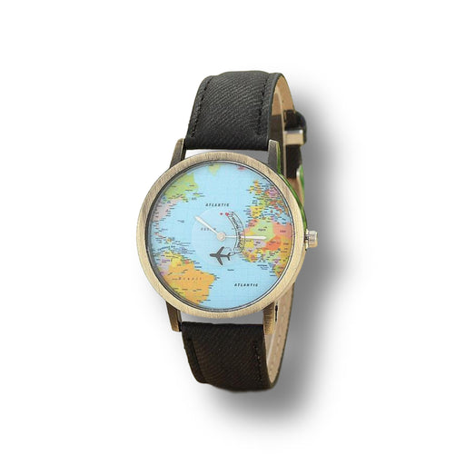 World Traveler Leather Watch - Cool Trends