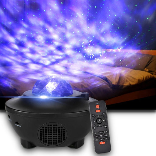 Galaxy LED Party Bluetooth Speaker and Projector - Cool Trends