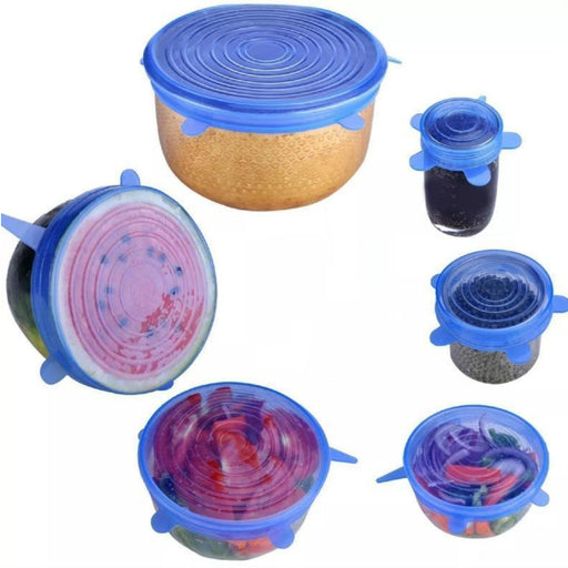 Stretchy Reusable Silicone Lids - Cool Trends