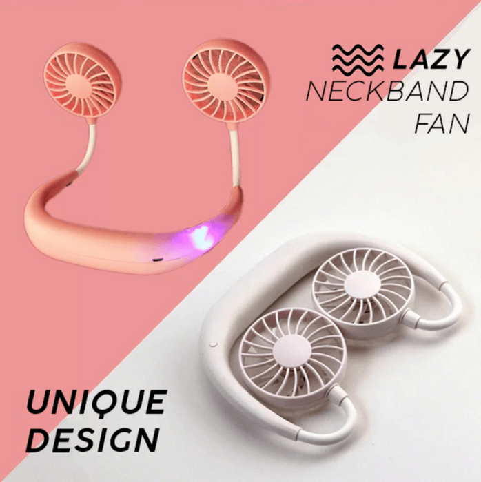 Lazy Neckband Fan - Cool Trends